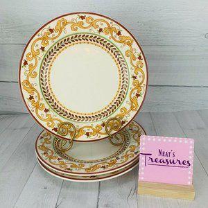 World Market LISBON Floral Dinner Plates Set 3